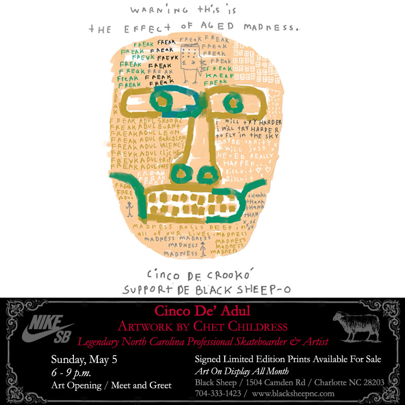 Cinco De&#8217; Adul &#8211; Artwork by Chet Childress at Black Sheep
