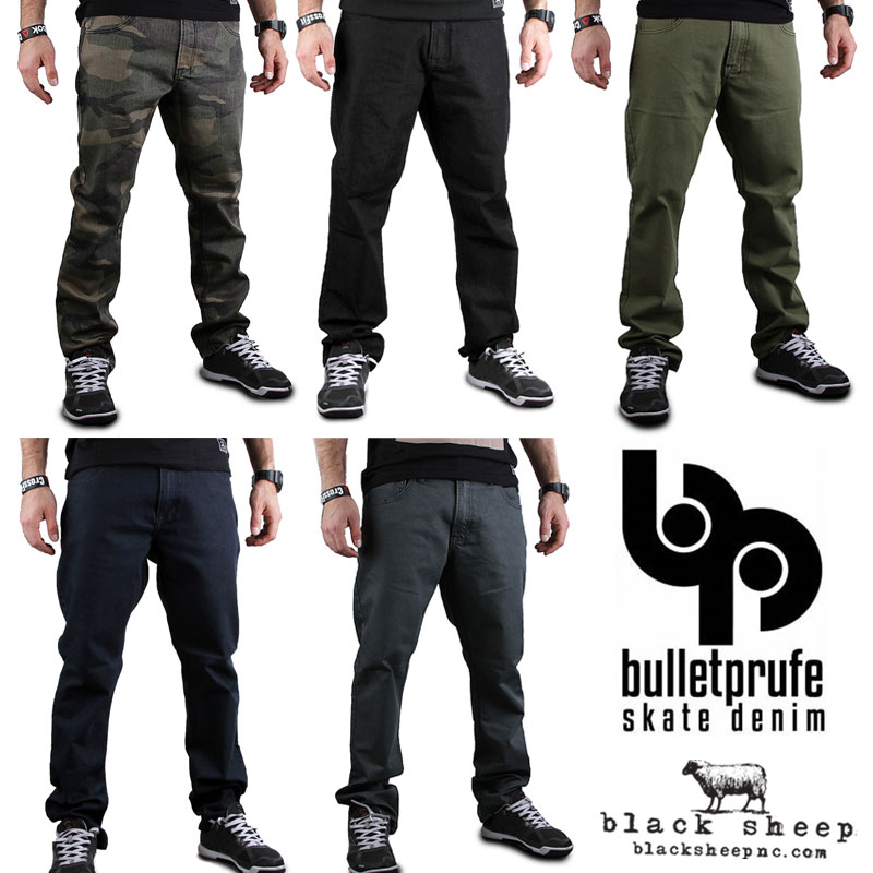 Bulletprufe Skate Denim Available In-Store &#038; Online
